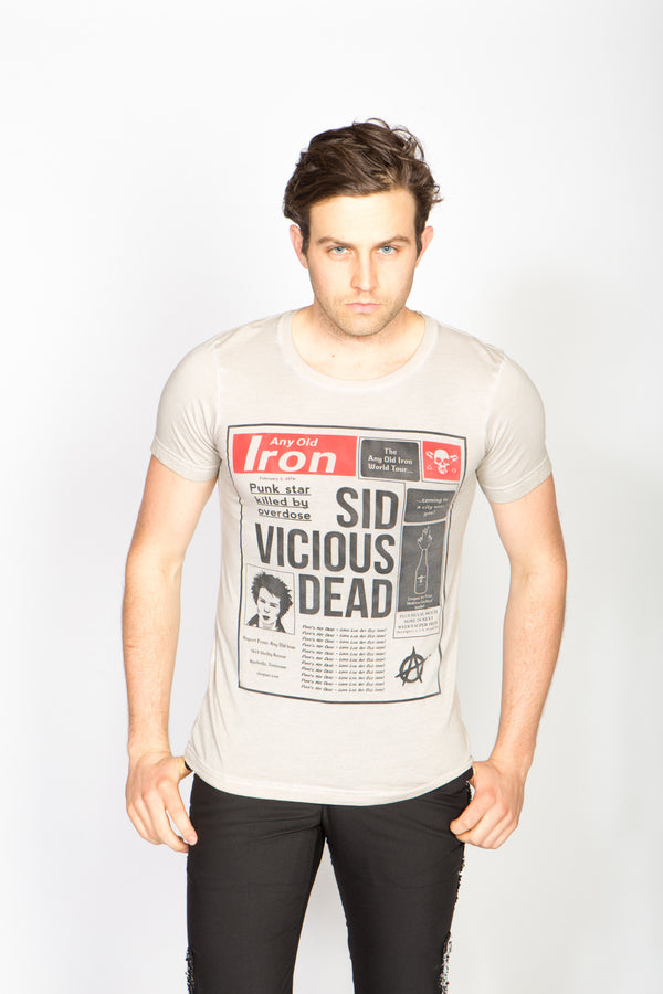 Any Old Iron Sid Is Dead T-Shirt