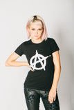 Anarchy Old Iron Women's T-Shirt , Womans Tops - ANY OLD IRON,  - 1