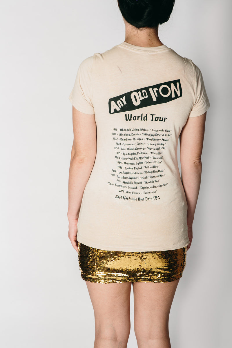 Any Old Iron Woman's I Predict A Riot T-Shirt , Womans Tops - ANY OLD IRON,  - 3