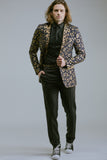 Any Old Iron Gold Leopard Suit , Mens Jackets - ANY OLD IRON,  - 4