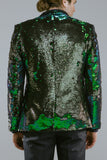 Any Old Iron Peacock Sequin Blazer , Mens Jackets - ANY OLD IRON,  - 5