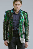 Any Old Iron Peacock Sequin Blazer , Mens Jackets - ANY OLD IRON,  - 6