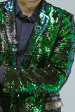 Any Old Iron Peacock Sequin Blazer , Mens Jackets - ANY OLD IRON,  - 9