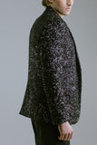 Any Old Iron Black Sequin Blazer , Mens Jacket - ANY OLD IRON,  - 3