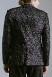 Any Old Iron Black Sequin Blazer , Mens Jacket - ANY OLD IRON,  - 4