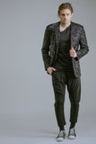 Any Old Iron Black Sequin Blazer , Mens Jacket - ANY OLD IRON,  - 5