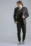 Any Old Iron Black Sequin Blazer , Mens Jacket - ANY OLD IRON,  - 6