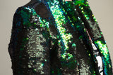Any Old Iron Peacock Sequin Suit , Womans Jackets - ANY OLD IRON,  - 4