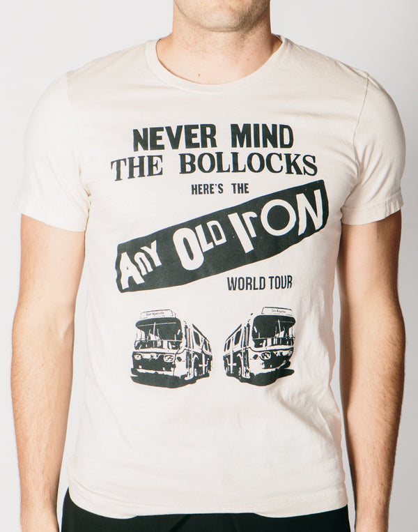 Any Old Iron I Predict A Riot T-Shirt , Mens Tops - ANY OLD IRON,  - 1