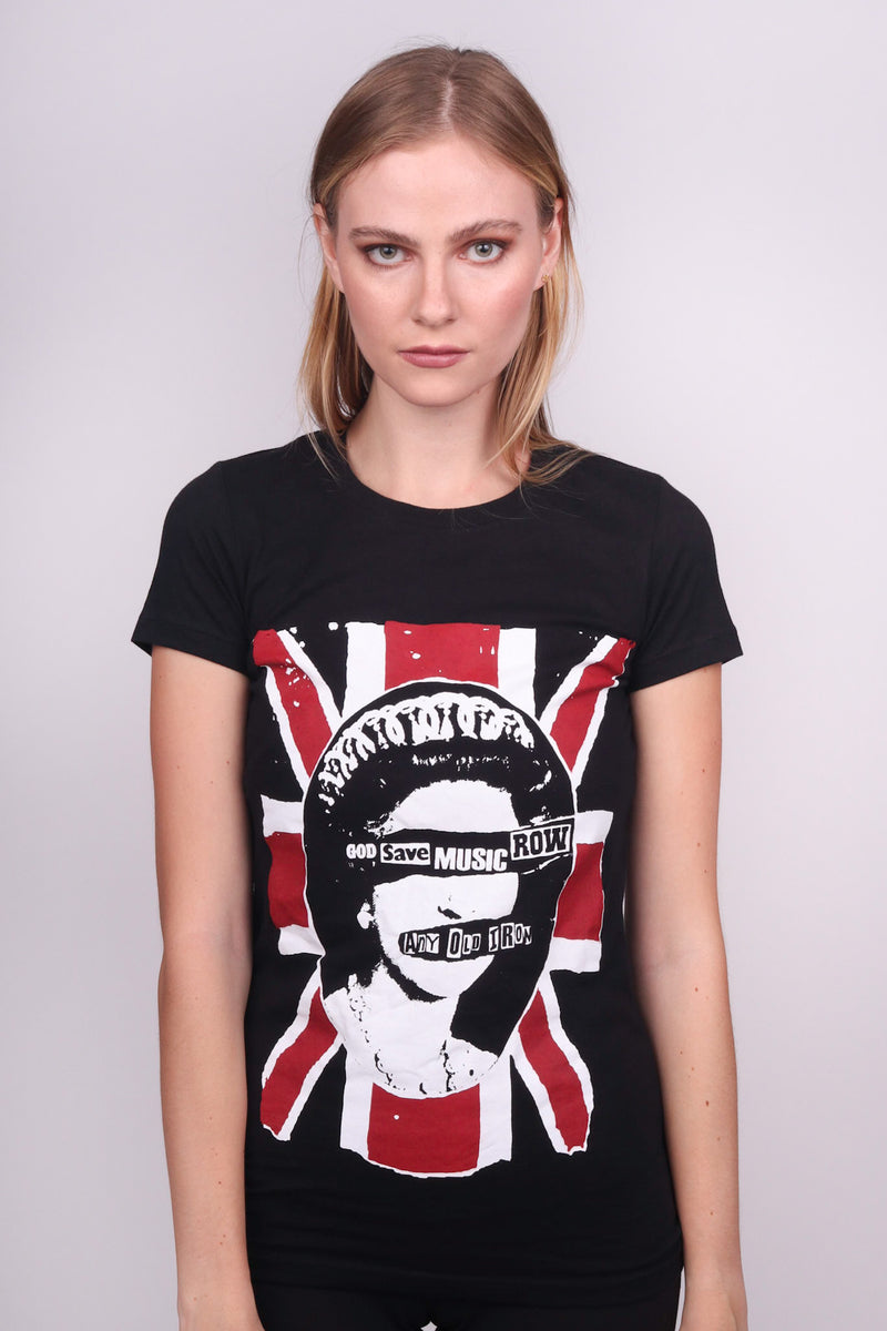 Any Old Iron God Save Music Row Women's T-Shirt