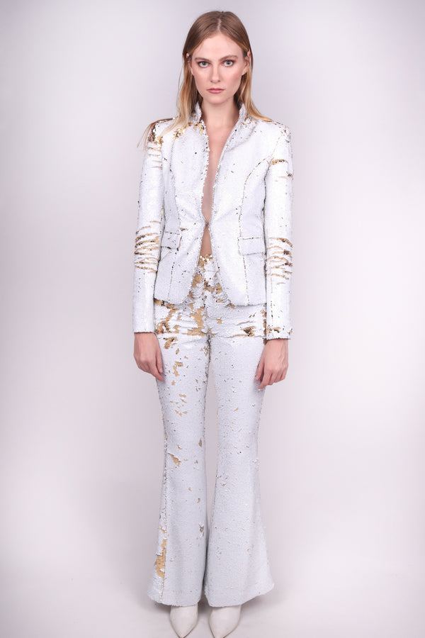 Any Old Iron White Gold Suit '