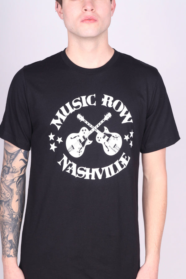 Any Old Iron Music Row Black T-Shirt