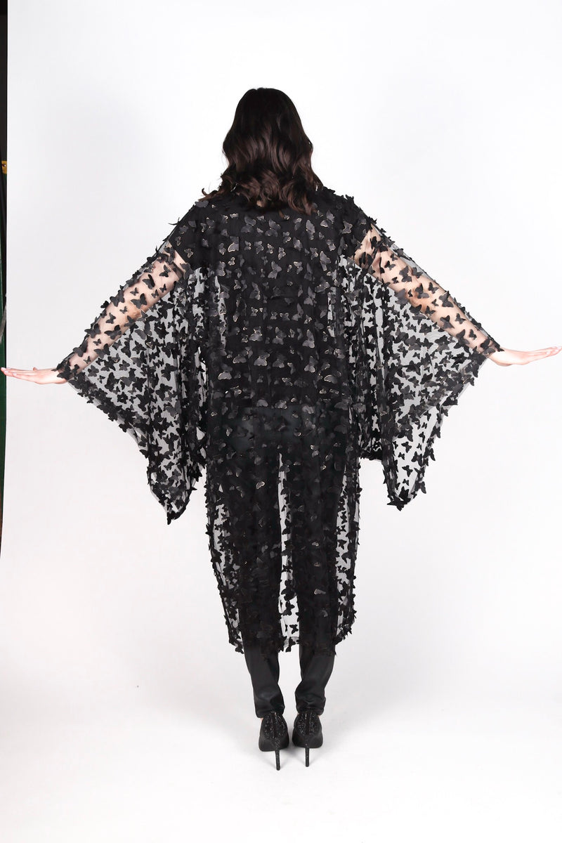 Any Old Iron Golden Butterfly Kimono
