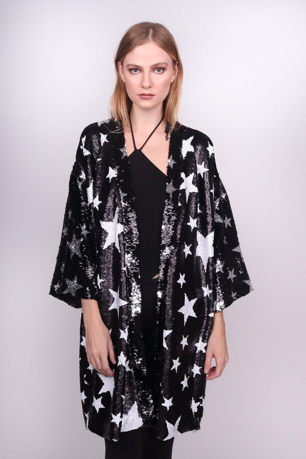 Any Old Iron Sparkle Star Kimono
