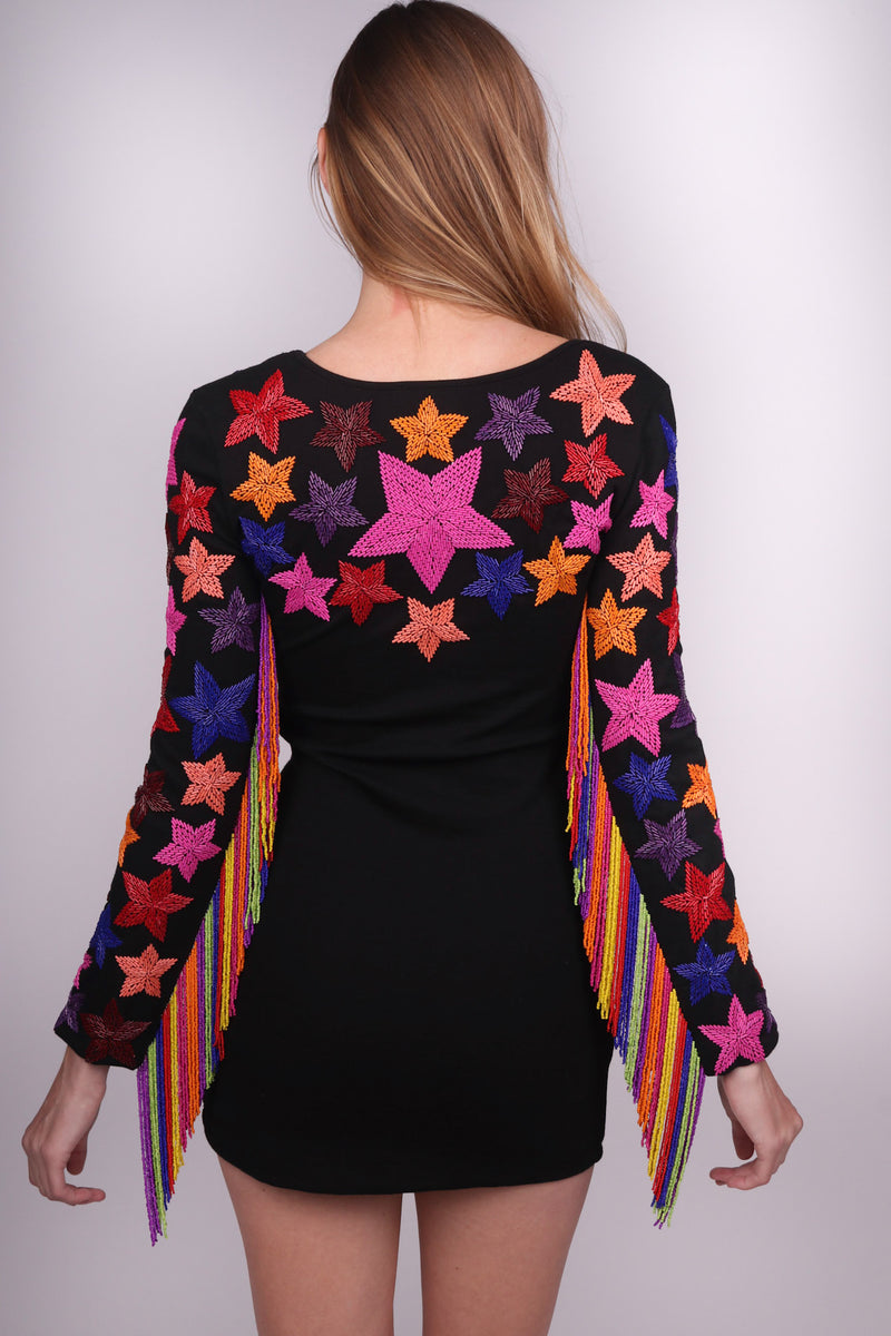 Any Old Iron Star Fringe Dress