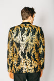 Any Old Iron Black and Gold Sequin Blazer , Mens Jackets - ANY OLD IRON,  - 4