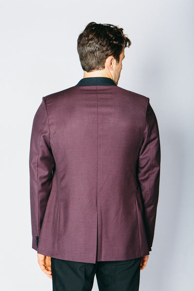 Any Old Iron Classic Cashmere Blend Blazer - Ox Blood , Mens Jackets - ANY OLD IRON,  - 4