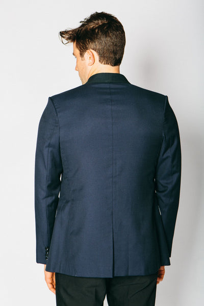 Any Old Iron Classic Cashmere Blend Blazer - Navy , Mens Jacket - ANY OLD IRON,  - 4