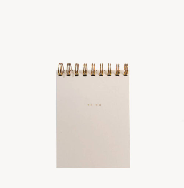 Wilde House Paper - To Do Desk Pad - Nude
