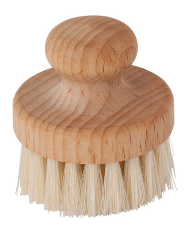 Natural Bristle Facial Brush