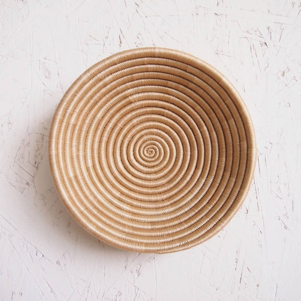 Handwoven Sisal Bowl - Small Natural