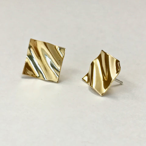Furrow Stud Earrings