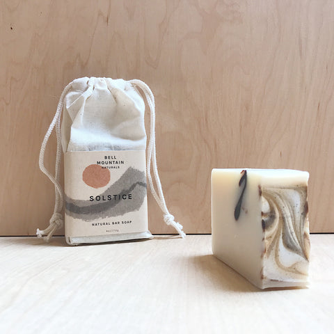 Bell Mountain Naturals - Solstice Natural bar soap
