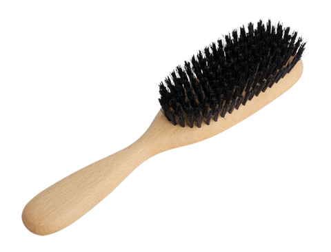 Boar Hair Brush with wooden handle