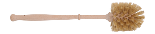 Natural Bristle and Wood Handled Toilet Brush
