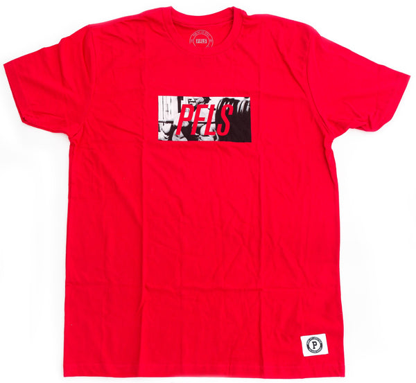 PFLS GOVERNOR TEE-RED