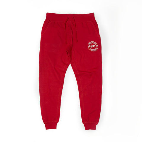 PFLS CREST JOGGERS - FIRE RED