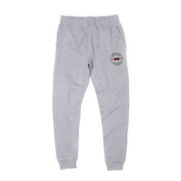 PFLS CREST JOGGERS - HEATHER GREY