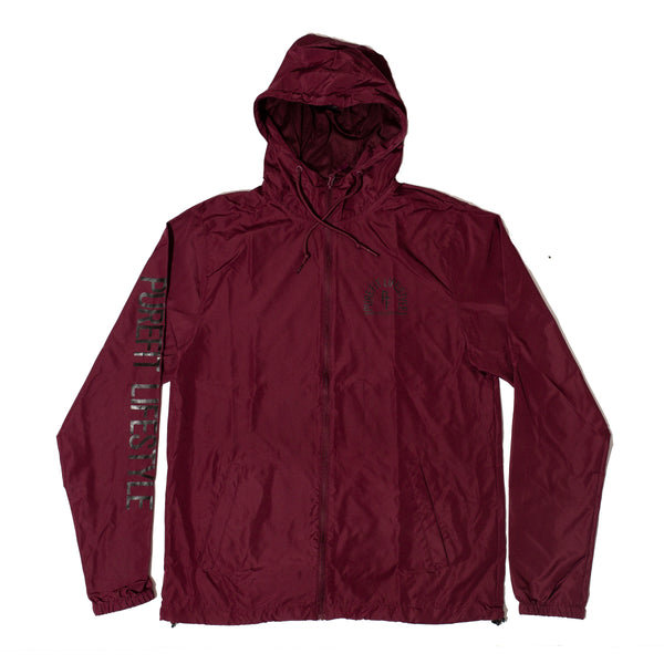 MARATHON WINDBREAKER-BURGUNDY