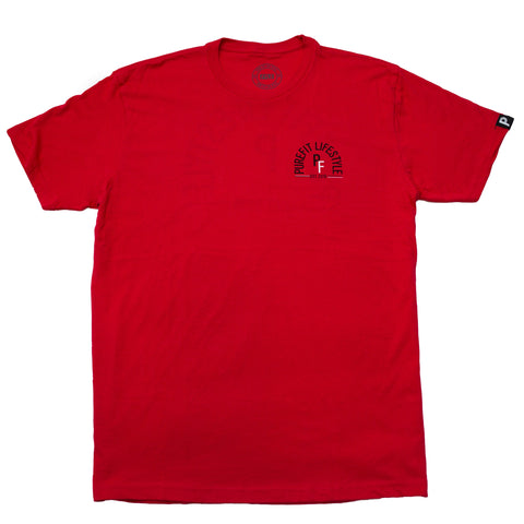 DOME TEE-RED