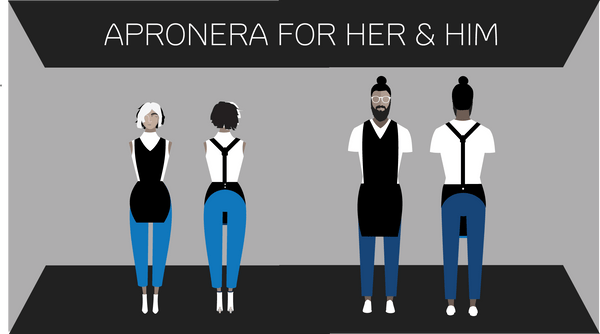 Apronera is Designed for Men and Women