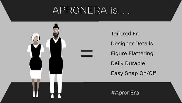 Apronera is Stylish, Smart, Sexy, Durable, Functional