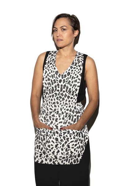 Women's Animal Print Apron
