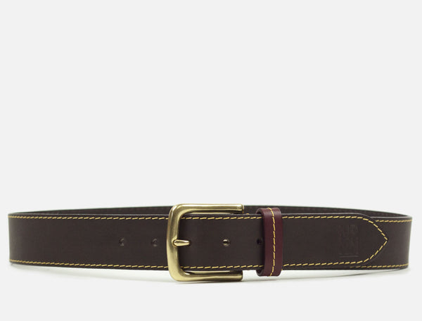 The Original Leather Belt - Dark Brown