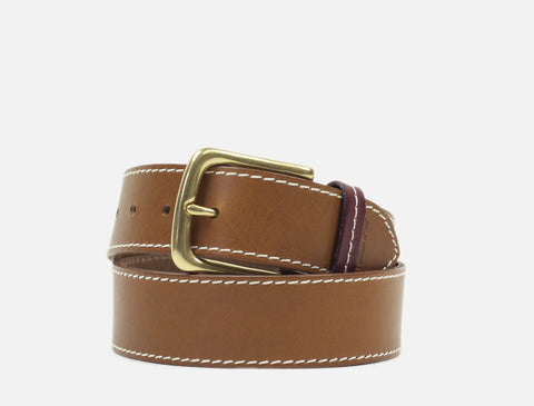 The Original Leather Belt - Tan