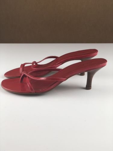 Aldo Womens Size 7 US Red Kitten Heel Shoes