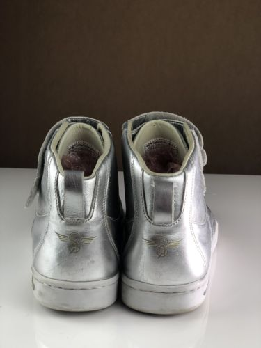 Creative Recreation Dicoco Mens Size 10 Silver High Top Shoes