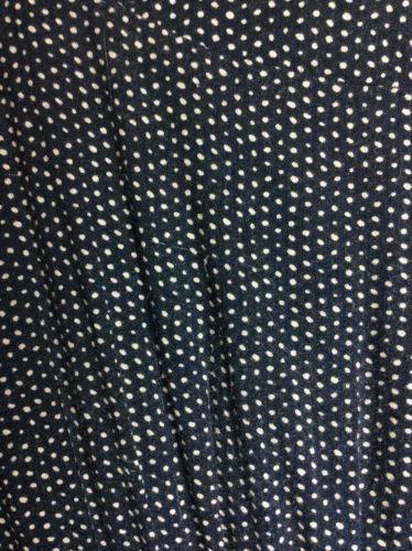 Everly Polka Dot Dress Blue Small