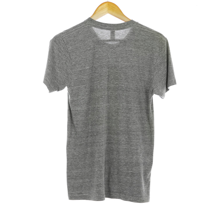 "American Apparel Grey Triblend ""Cleveland"" Graphic Small T-Shirt - Six 3 Shop"