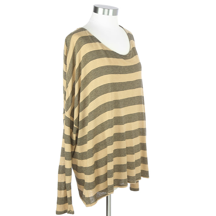 Old Navy XXL Yellow Striped Shirt - Six 3 Shop