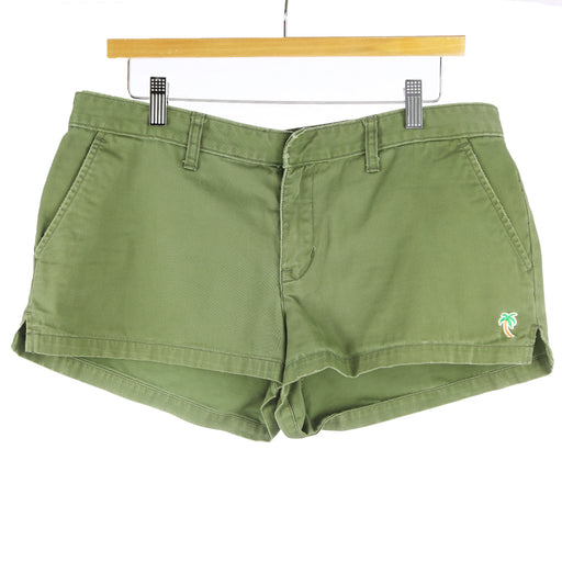 Hollister Co. Size 12 Green Shorts - Six 3 Shop