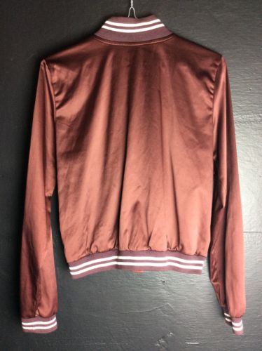 American Eagle Womens Small Varsity Jacket Maroon