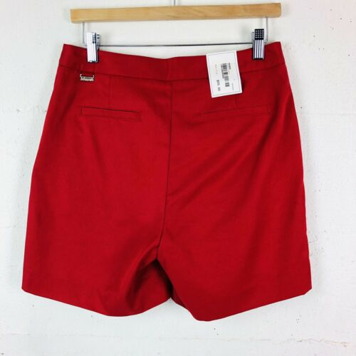 Ashworth Womens Suze 4 Red Golf Shorts NWT