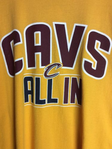 Cleveland Cavaliers All In Teenshirt Gold XL