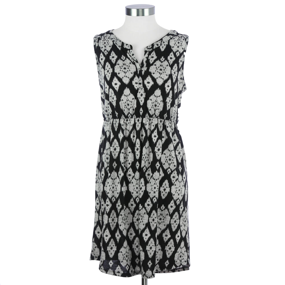 Sonoma Medium Black and White Dress
