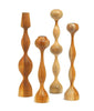 30 days of gift ideas: Warm Up with Wooden Candle Holders